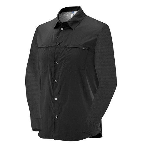Camisa-Salomon-Strech-LS-Manga-Larga-Trekking-Urbano-Hombre-Black-S62702
