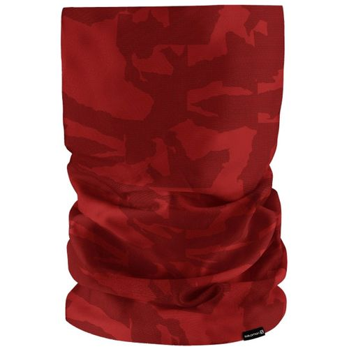 Cuello-Termico-Salomon-Necktube-Running-Unisex-Camo-Biking-Red-40134