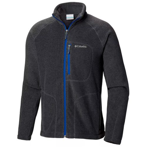 Campera-Polar-Columbia-Fast-Trek-II-Trekking-Hombre-Graphite-Blue-AM3039-061
