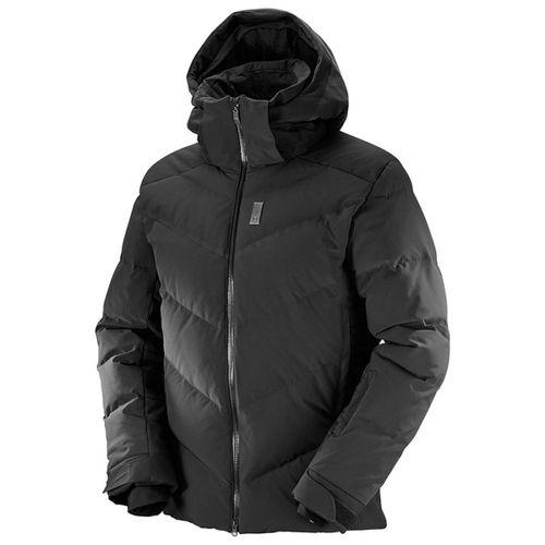 Campera-Salomon-Whitebreeze-Down-Ski-Snowboard-Black-397113