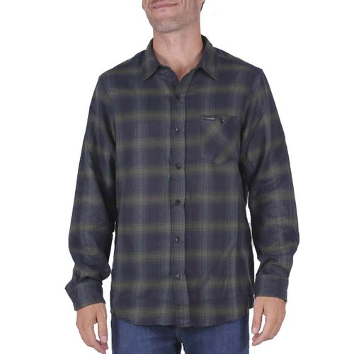 Camisa-Rip-Curl-Flanel-Check-This-Urbano-Hombre-Black-Green-02018-F8