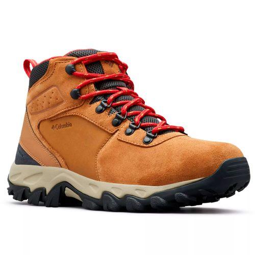 Botas-Columbia-Newton-Ridge-Plus-II-Suede-Waterprof-Trekking-Hombre-Elk-Mountain-Red-1746411-286