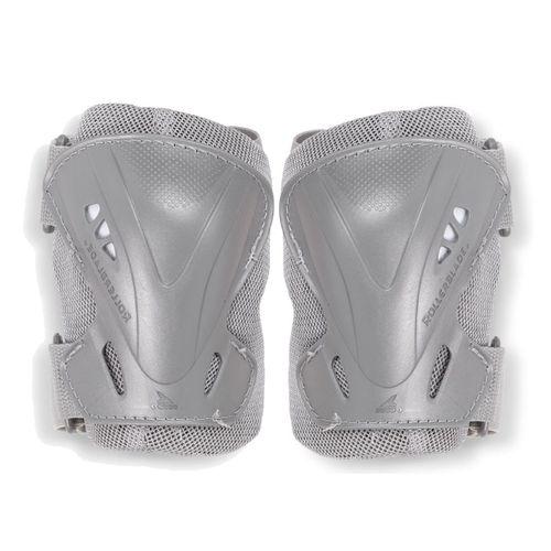 Rodilleras-Rollerblade-Pro-N-Activa-Para-Rollers-Unisex-Hombre-Mujer-Grey