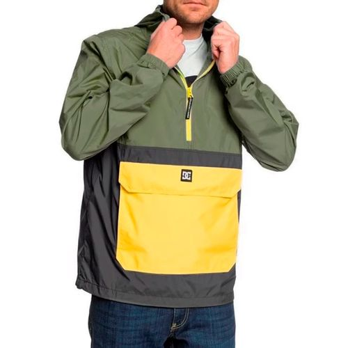 Buzo-Anorak-DC-Shoes-Sedgefield-Packable-Urbano-Hombre-Verde-1212114005