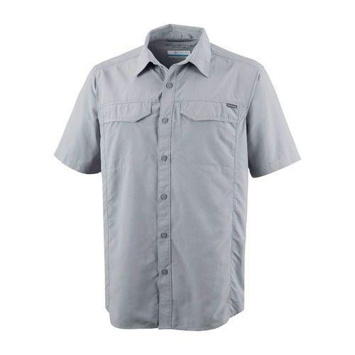 Camisa-Columbia-Silver-Ridge-Manga-Corta-Protec-Solar-Hombre-Grey-AM7474-039