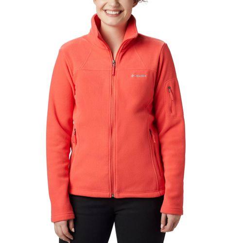 Campera-De-Polar-Columbia-Sportswear-Fast-Trek-2-Mujer-Red-Coral-EL6081-633