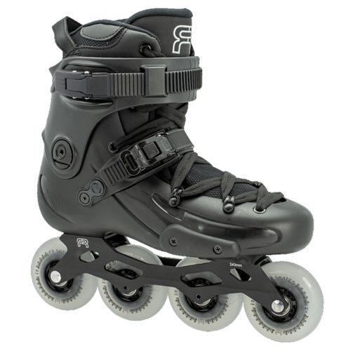 Rollers-FR-Skate-FR2-80-Freeride-Freestyle-Unisex-Black-FRSK-FR280-BK