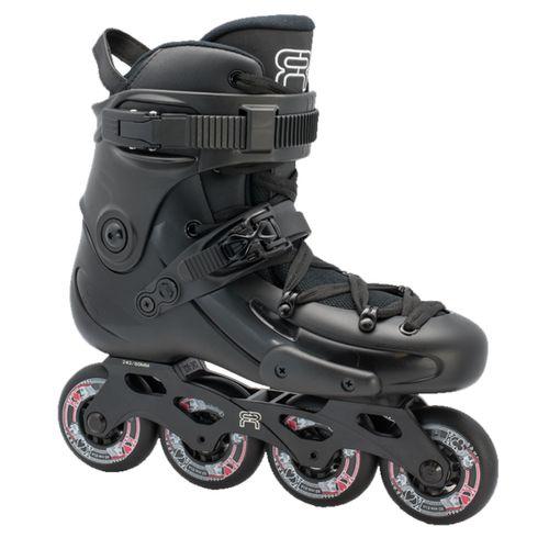 Rollers-FR-Skate-FR3-80-Freeride-Freestyle-Unisex-Black-FRSK-FR380-BK