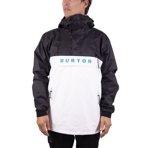 Buzo-Anorak-Burton-Mark-Windstoppers-Urbano-Hombre-Black-White-B1HMARKWH