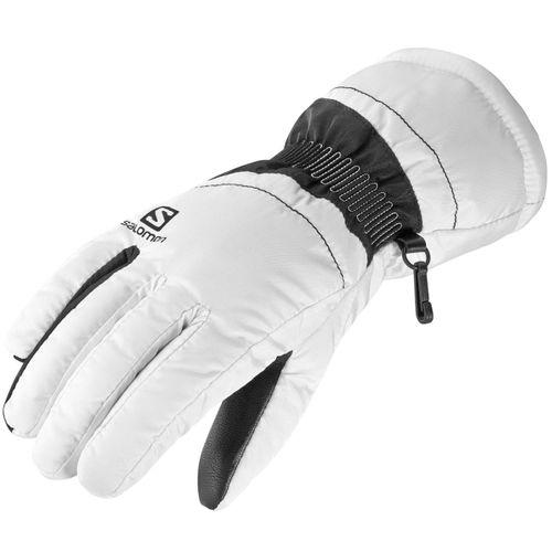 Guantes-Salomon-Force-Ski-Snowboard-Mujer-White-Black-404217