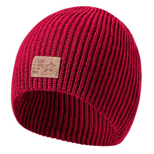 Gorro-Alaska-Tejido-Bigua-Alaska-Rosa-Red-ALRKY005