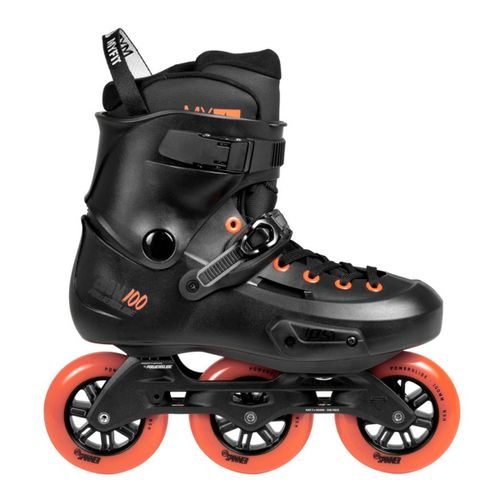 Roller-Powerslide-Zoom-Rental-100-TermoMoldeable-Black-880269