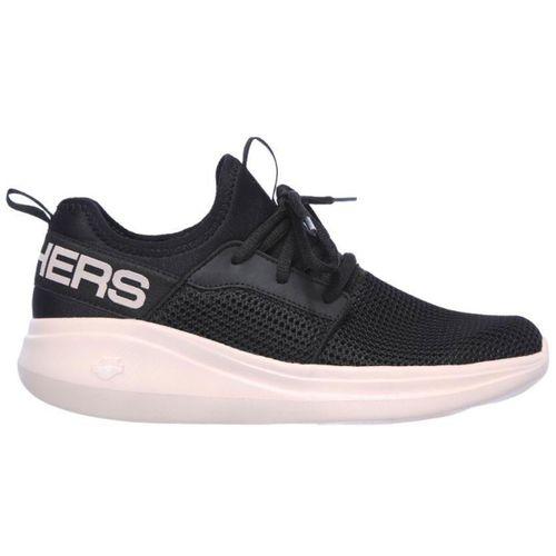 Zapatillas-Skechers-Go-Run-Fast-Quick-Step-Running-Mujer-Black-Pink-128010-BKPK