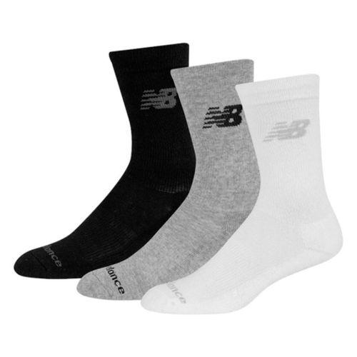 Medias-New-Balance-Crew-X3-Running-Hombre-Black-Grey-White-N3P305010