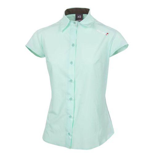 Camisa-Manga-Corta-Ansilta-W-Max-Trekking-Mujer-Verde-Agua-161807-701